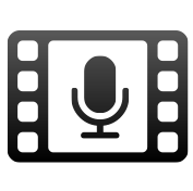 Icon category Cinema, Radio and TV. Down syndrome videos